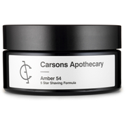 Carsons Apothecary Amber 54 Shaving Cream