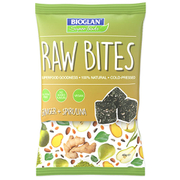 Bioglan Raw Bites Ginger and Spirulina - 40g Bag