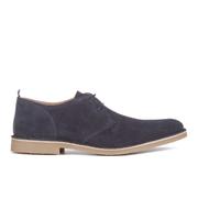 Selected Homme Men's Royce Suede Shoes - Navy Blazer