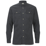 Selected Homme Men's Twoty Long Sleeve Shirt - Black