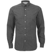 Selected Homme Men's One Christian Long Sleeve Shirt - Jet Black