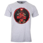 Marvel Deadpool Men's Deadpool T-Shirt - Sports Grey