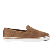 Lauren Ralph Lauren Women's Janis-Ne Slip-on Trainers - Tan