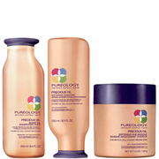 Pureology Precious Oil Shampoo, Conditioner (250ml) and Softening Mask (150g)