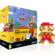 Super Mario Maker Wii U Premium Pack + 8-Bit Mario Soft Toy
