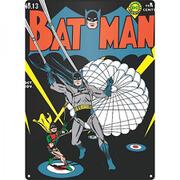 DC Comics Batman Parachute Large Tin Sign