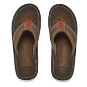 Clarks Men's Riverway Sun Toe-Post Sandals - Brown