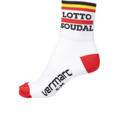 Lotto Soudal Socks 2016 - White/Red