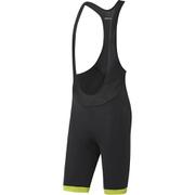 adidas Supernova Bib Shorts - Black/Semi Solar Slime