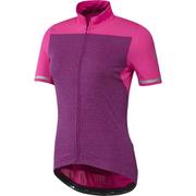 adidas Women's Climachill Short Sleeve Jersey - Shock Pink