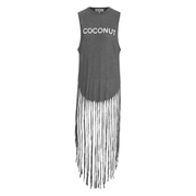 Wildfox Women's Coconut Gypsy Tank Top - Dirty Black