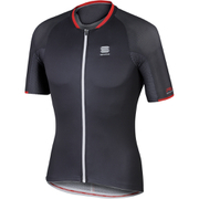 Sportful R&D Speedskin Short Sleeve Jersey - Grey/Black/Red