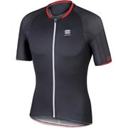 Sportful R&D Speedskin Short Sleeve Jersey - Grey/Black/Red