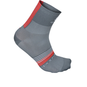 Sportful BodyFit Pro 9 Socks - Grey/Red/White