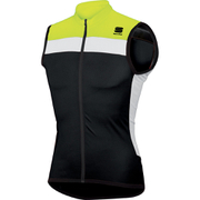 Sportful Pista Sleeveless Jersey - Black/Yellow/White