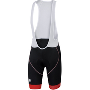 Sportful BodyFit Classic Bib Shorts - Black/Red