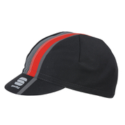Sportful BodyFit Pro Cap - Black/Red - One Size