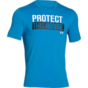 Under Armour Men's Sportstyle PTH T-Shirt - Blue