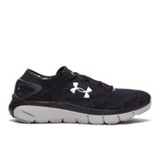 Under Armour Men's SpeedForm Fortis Vent Running Shoes - Black/White