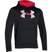 Under Armour Men's Storm Armour Fleece Big Logo Twist Hoody - Black