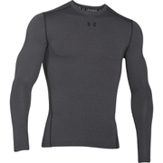 Under Armour Men's ColdGear Armour Compression Crew Top - Grey