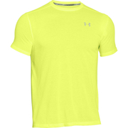 Under Armour Men's Streaker Run Short Sleeve T-Shirt - Yellow