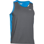 Under Armour Men's CoolSwitch Run Singlet - Grey/Blue
