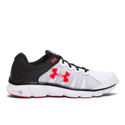 Under Armour Men's Micro G Assert 6 Running Shoes - White/Black/Red