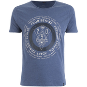 Smith & Jones Men's Arrowsli Print T-Shirt - Midnight Blue Marl