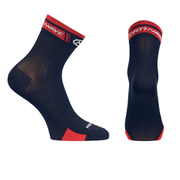 Northwave Logo 12cm Cuff Socks - Black/Red