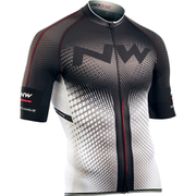 Northwave Extreme Full Zip Short Sleeve Jersey - White