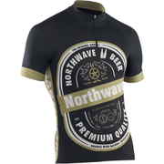 Northwave Beer Short Sleeve Jersey - Black/White