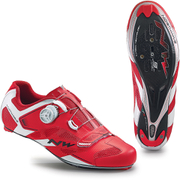 Northwave Men's Sonic 2 Carbon Cycling Shoes - Red/White