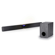 Steljes Audio Erato TV Sound Bar with Wireless Sub Woofer - Black/Silver