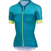 Castelli Women's Aero Race Short Sleeve Jersey - Blue