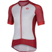 Castelli Climber's 2.0 Short Sleeve Jersey - White/Red