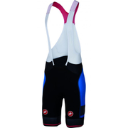Castelli Free Aero Race Kit Bib Shorts - Black/Blue