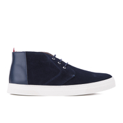 Oliver Spencer Men's Beat Chukka Boots - Navy Suede