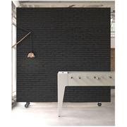 NLXL Materials Wallpaper by Piet Hein Eek - Black Brick