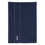 Hugo BOSS Plain Bath Mat - Navy