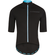 Look [LM]Ment Short Sleeve Jersey - Black/Blue
