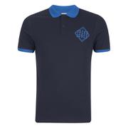 Jack & Jones Men's Core Flat Lock Polo Shirt - Navy Blazer