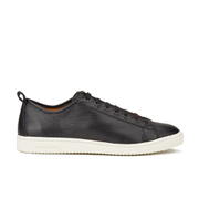Paul Smith Shoes Men's Miyata Leather Trainers - Black Seta Calf