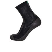 Santini Flag High Profile Coolmax Socks - Black