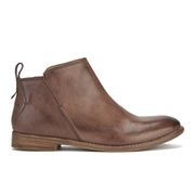 H Shoes by Hudson Women's Revelin Leather Ankle Boots - Chocolate
