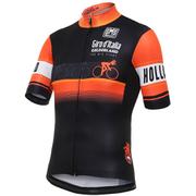 Santini Giro d'Italia 2016 Stage 1 Gelderland Short Sleeve Jersey - Black