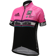 Santini Podium Ambition 16 Women's Short Sleeve Jersey - Pink