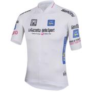 Santini Giro d'Italia 2016 Best Young Rider Short Sleeve Jersey - White
