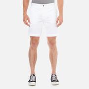J.Lindeberg Men's Nathan ES Breeze Stretch Shorts - Off White