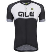 Alé Excel Veloce Short Sleeve Jersey - Black/Grey